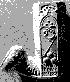 Una pipa in terracotta davvero strana che ci fa correre con la fantasia.